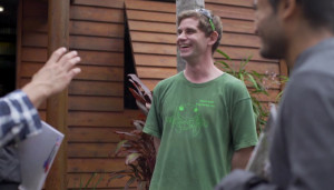 Jono at the GC Bioblitz. Photo credit: Natura Pacific