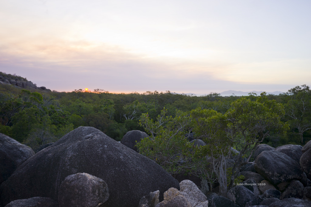Sunset at Cape Melville